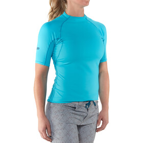 NRS H2Core Rashguard T-shirt à manches courtes Femme, blue atoll